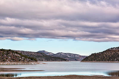 Photograph - Ridgway Reservoir In April by Denise Bush