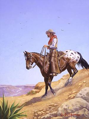 Painting - Ridin' High by Howard Dubois