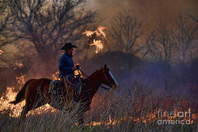 Photograph - Ridin' The Flames by Crystal Nederman