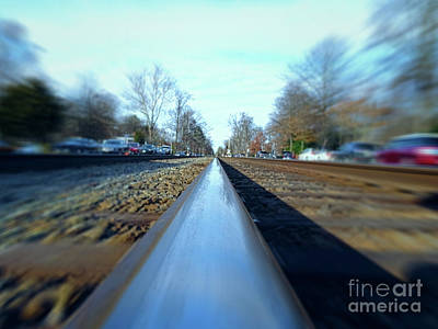 Photograph - Ridin The Rails by Melissa Messick