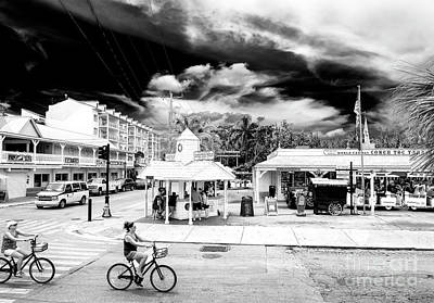 Photograph - Riding Bicycles In Key West by John Rizzuto