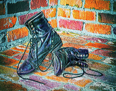 Photograph - Riding Boots by Pam Kaster