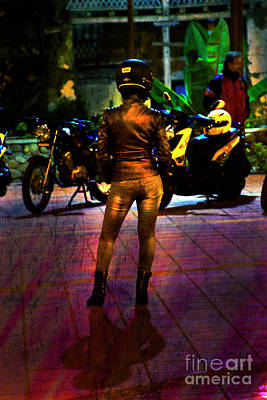 Ladies Bike Photograph - Riding Companion II by Al Bourassa