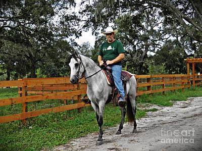Photograph - Riding Ferrell by Sarah Loft