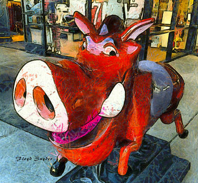 Photograph - Riding Pig Of Pismo Beach by Floyd Snyder