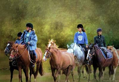 Riding School Art Print by Wallaroo Images