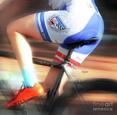 Bike Riding Digital Art - Riding The Bottom Clutch  by Steven Digman