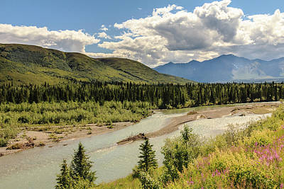 Photograph - Riding The Dome Car In Alaska by Joni Eskridge