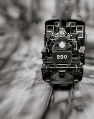 Riding The Railways Art Print
