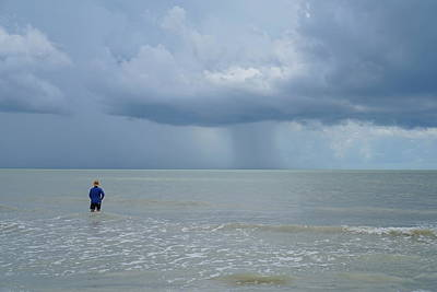 Photograph - Riding The Storm Out by Laurie Perry