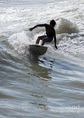 Photograph - Riding The Wave by Jennifer White