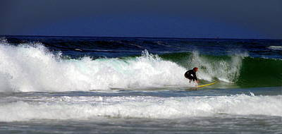 Photograph - Riding The Waves At Asilomar State Beach Four by Joyce Dickens
