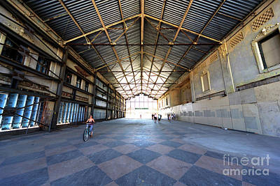 Photograph - Riding Through The Casino Building by John Rizzuto