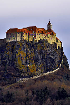 Photograph - Riegersburg Castle Vertical by Ivan Slosar