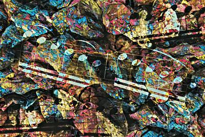 Digital Art - Riff 'n' Rocks by Lon Chaffin