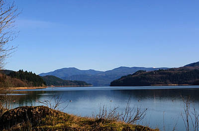 Photograph - Riffe Lake At Mossy Rock Dam by Tikvah's Hope