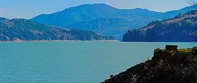 Photograph - Riffe Lake by Tikvah's Hope