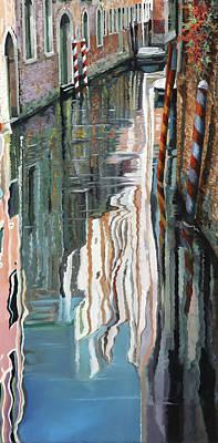 Paintings - Riflessi Bianchi by Guido Borelli