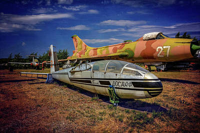 Trainer Aircraft Photograph - Riga Aviation Museum by Carol Japp