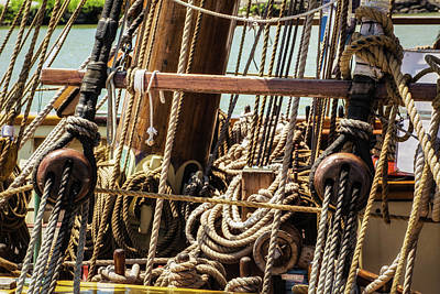 Photograph - Rigging Complexity by Dale Kincaid