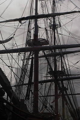 Photograph - Rigging by Herb Paynter