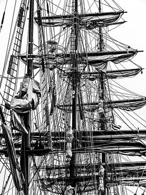 Photograph - Rigging by Kevin Fortier