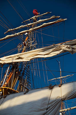 Photograph - Rigging by Lawrence Boothby