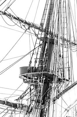 Photograph - Rigging by Stewart Helberg
