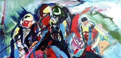 Painting - Right At Ya by John Jr Gholson