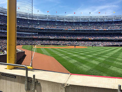 Yankee Stadium Bleachers Photograph - Yankee Stadium_right Field2 by All Island Promos