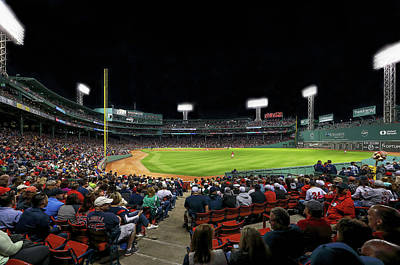 Photograph - Right Field Of Boston Fenway Park by Juergen Roth