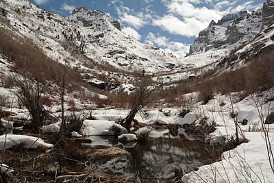 Photograph - Right Fork Canyon by Jenessa Rahn