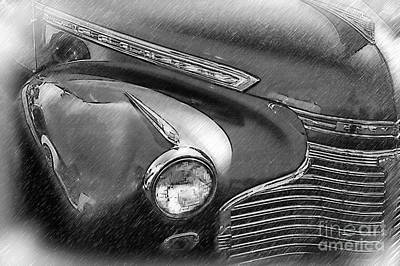 Digital Art - Right Front Fender by Kirt Tisdale
