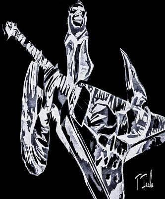Digital Art - Damn Right I Got The Blues by Terry Fiala