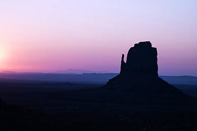 Photograph - Right Mitten Monument Valley by Dave Dilli