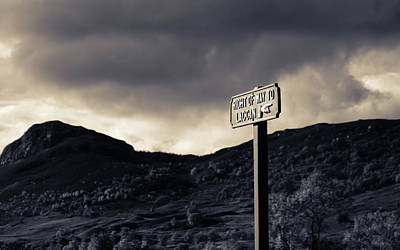 Art Print featuring the photograph Right Of Way To Laggan by RKAB Works