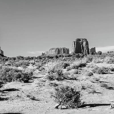 Photograph - Right Panel 3 Of 3 - Monument Valley Monolith Panorama Landscape by Gregory Ballos