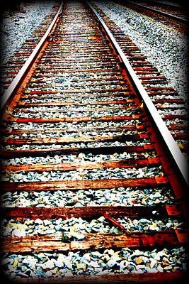 Right Side Of The Tracks Art Print by Devon Stewart