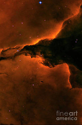 Photograph - Right - Triptych - Stellar Spire In The Eagle Nebula by Paul W Faust - Impressions of Light