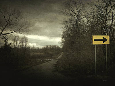 Photograph - Right Turn Only by Cynthia Lassiter