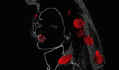 Rihanna Mixed Media - Rihanna 17a by Brian Reaves
