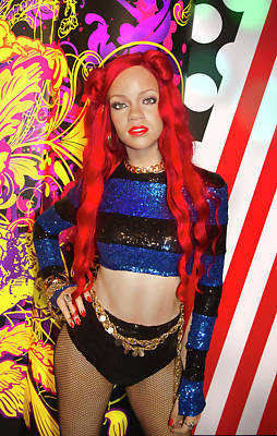 Photograph - Rihanna by Miroslava Jurcik