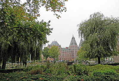 Photograph - Rijks Museum In The Distance by Pema Hou
