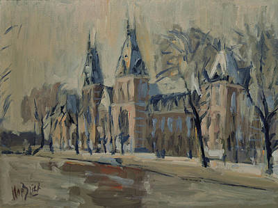 Holland Painting - Rijksmuseum Just After The Rain by Nop Briex