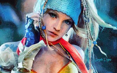 Thief Digital Art - Rikku Final Fantasy  - Camille Style -  - Da by Leonardo Digenio