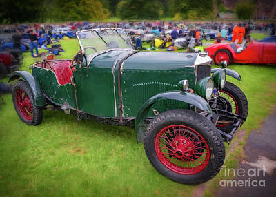 Photograph - Riley Classic Car by Adrian Evans