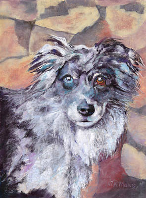 Painting - Riley by Julie Maas