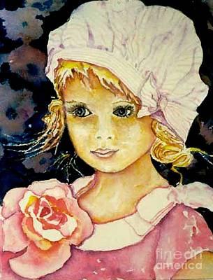 Riley Art Print by Norma Boeckler
