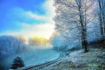 Photograph - Rime Ice Sunrise by Dale R Carlson