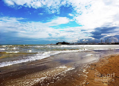 Rimini After The Storm Art Print